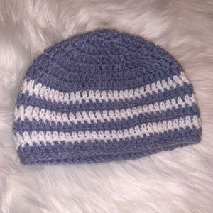 Accessories - Knitted striped beanie